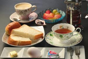 Breakfast options available to guests at Miyoshino Sakuraan