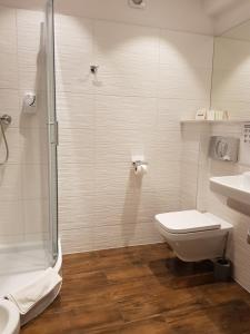 Kúpeľňa v ubytovaní U Pana Cogito