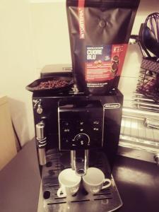Coffee and tea-making facilities at B & B Eliana e Ristorante
