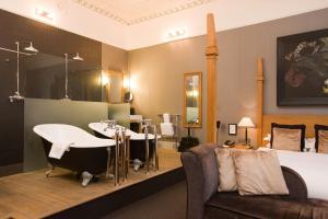 A seating area at Hotel du Vin Cheltenham