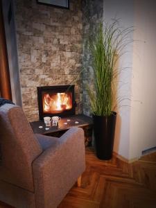 TV a/nebo společenská místnost v ubytování Holiday Home Bella Vita
