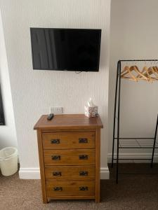 A television and/or entertainment center at Willow Dene