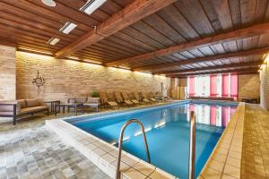 The swimming pool at or near Flair Hotel Dobrachtal
