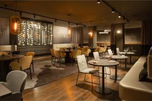 Un restaurante o sitio para comer en OREA Congress Hotel Brno