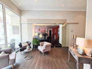 Гостиная зона в Hotel Restaurant Alt Pirmasens