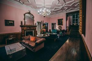 The fitness center and/or fitness facilities at Ruthin Castle Hotel and Spa