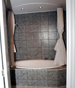 A bathroom at Auberge Bay Wind Suites