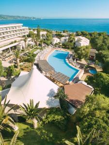 Гледка от птичи поглед на Agapi Beach Resort Premium All Inclusive