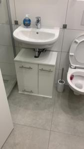 A bathroom at Causevic