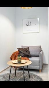 Oleskelutila majoituspaikassa Trendy Homes Oulu Marski Apartments