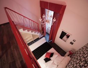Cama o camas de una habitación en Bed&Breakfast Andio