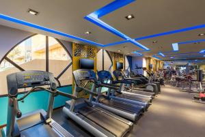 The fitness center and/or fitness facilities at Millennium Central Al Mafraq