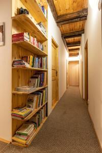 Knihovna v penzionu