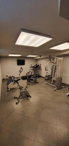 The fitness center and/or fitness facilities at Hotel Maritan