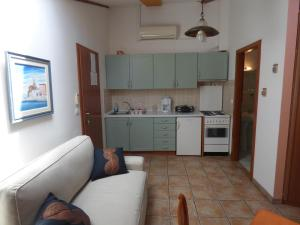 A kitchen or kitchenette at Apartments Bevk