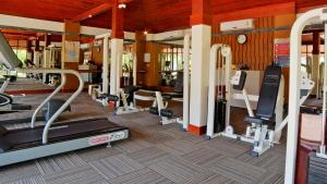 The fitness center and/or fitness facilities at Twin Lotus Resort and Spa - Adult only - SHA Plus