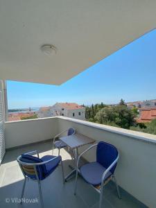 Balkón alebo terasa v ubytovaní Vila Novak