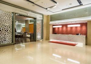 The lobby or reception area at Sunway Hotel Seberang Jaya