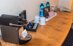 Coffee and tea-making facilities at stays by friends Gelsenkirchen