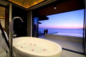 A bathroom at Lily Beach Resort and Spa - All Inclusive