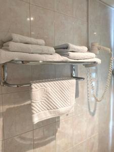 Ванная комната в Гостиничный комплекс Алмаз