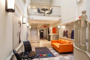 The lobby or reception area at Micro Boutique Living Antigonish