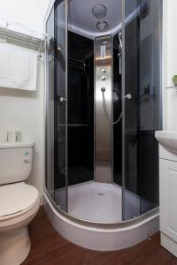 A bathroom at Micro Boutique Living Antigonish