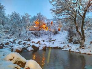 Getahovit Resort during the winter