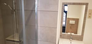 A bathroom at Lavan
