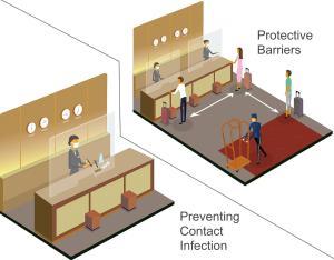The floor plan of Trimrooms Mount Blue