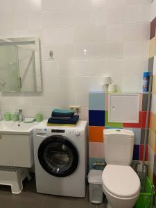 A bathroom at Apartments on Dachnaya 1