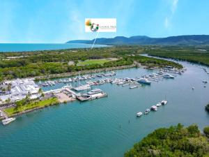 A bird's-eye view of Lychee Tree Holiday Apartments