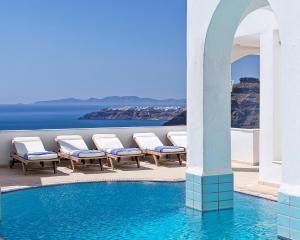 The swimming pool at or near Atlantis Hotel