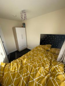 A bed or beds in a room at City centre appartments new build