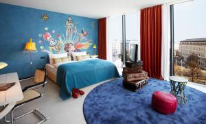 A room at 25hours Hotel beim MuseumsQuartier