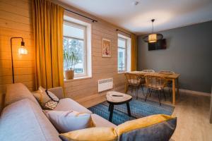 Istumisnurk majutusasutuses Mere 38 Apartments