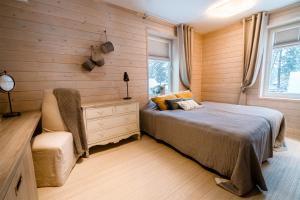 Voodi või voodid majutusasutuse Mere 38 Apartments toas