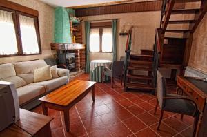 Zona de estar de La Galamperna