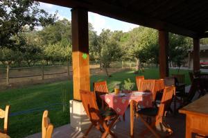 Un restaurante o sitio para comer en La Galamperna