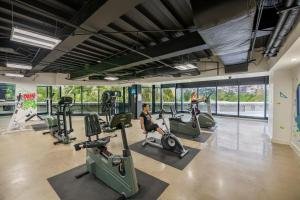 The fitness center and/or fitness facilities at Grand Hotel Tijuana