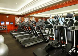 The fitness centre and/or fitness facilities at The Westin Excelsior, Rome