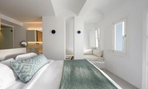 Vuode tai vuoteita majoituspaikassa Panorama Suites