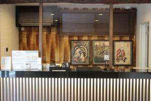 The lobby or reception area at Laon Inn Gion Nawate