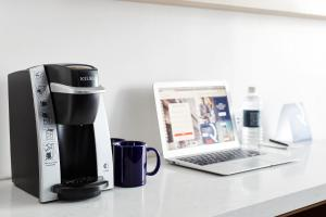 Coffee and tea-making facilities at Club Quarters Hotel Midtown - Times Square