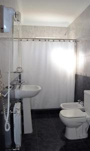 A bathroom at Hotel Barcelona Center