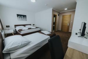 Krevet ili kreveti u jedinici u okviru objekta Hotel Brcko Gas Doboj