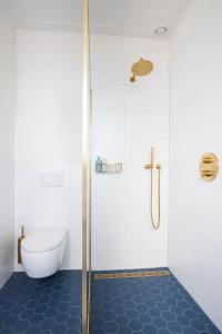 Ein Badezimmer in der Unterkunft B&B d'Ouwe Grutter