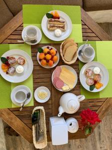 Завтрак для гостей Эстет этно отель