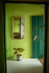 A bathroom at Casa Jaali