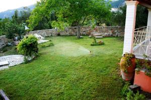 Κήπος έξω από το Villa Grecia